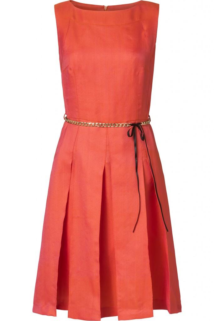 MC Collignon The Conscious Collection SS17 - Dress Fancy Orange 229,- (packshot)