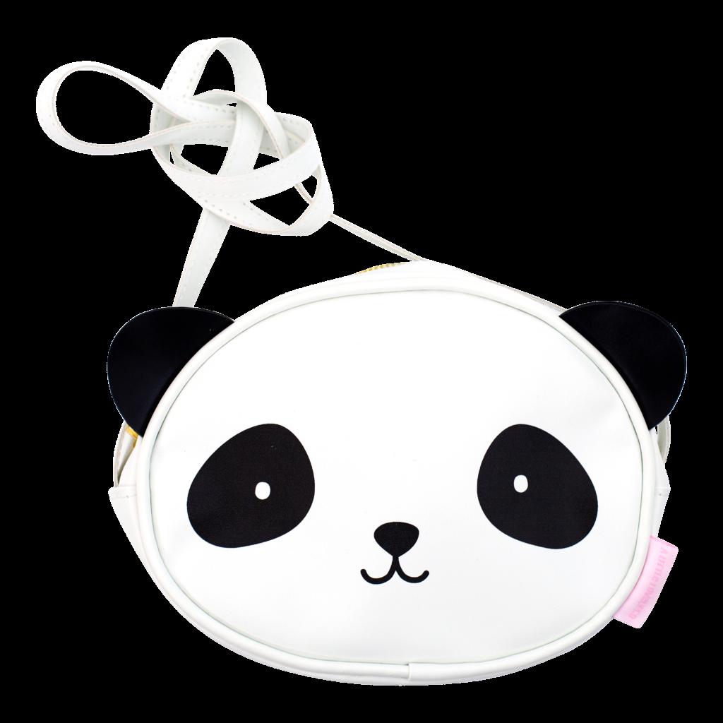 5.2 Schoudertasje Panda van A Little Lovely Company - hippekidskamer.nl