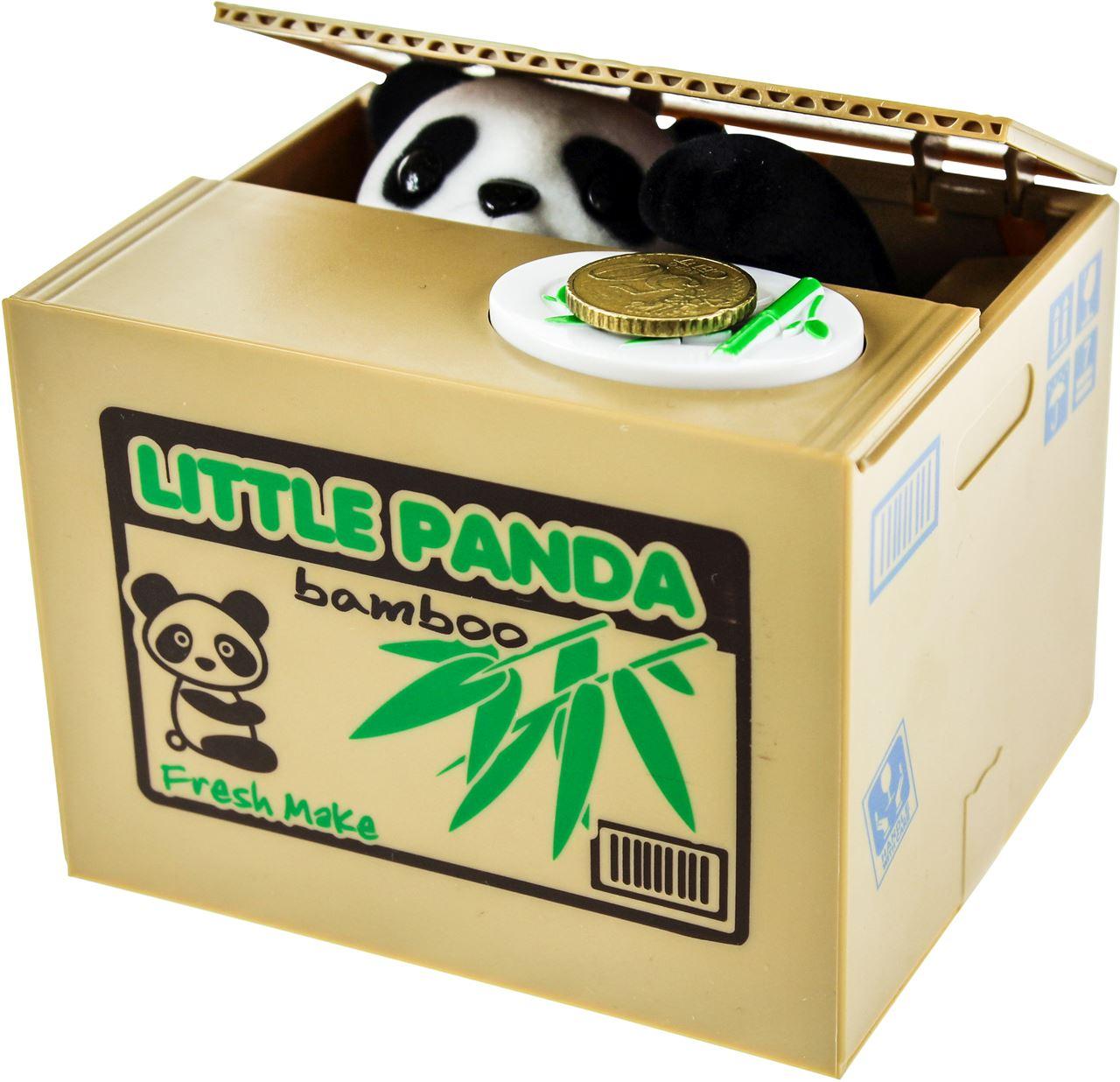 11.1 Panda Spaarpot - de schattigste schatbewaker - coolgift.com