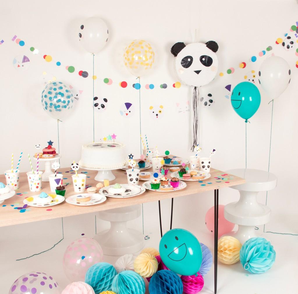 4.1 Panda piñata - vul deze met snoepjes, cadeautjes, speeltjes of confetti - hieppp.nl