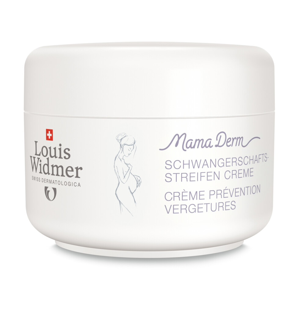 Louis Widmer MamaDerm Crème tegen Striemen